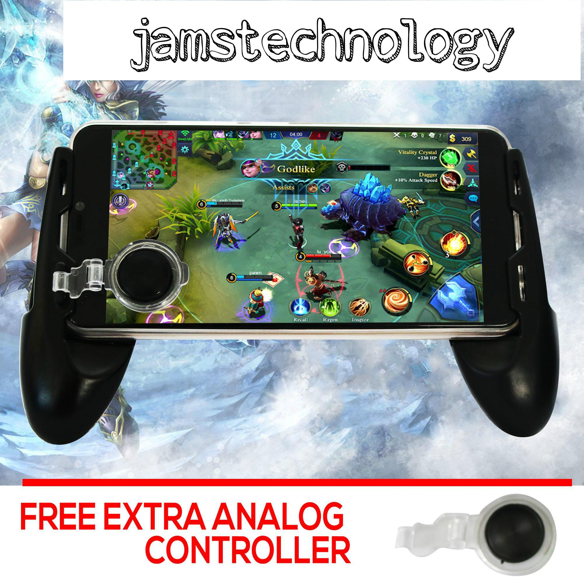 Jams Technology Gamepad JL01 Game Joystick Grip Extended Handle Game Controller Mobile