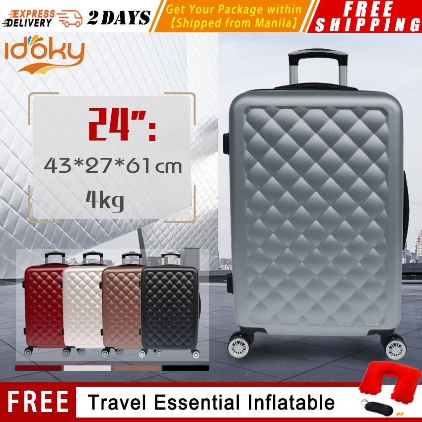 9f563102c2 Idoky PH013 Popular 24 Inch Medium Suitcase With Explosion Proof Zipper Hard  Case Scratch-Resistant