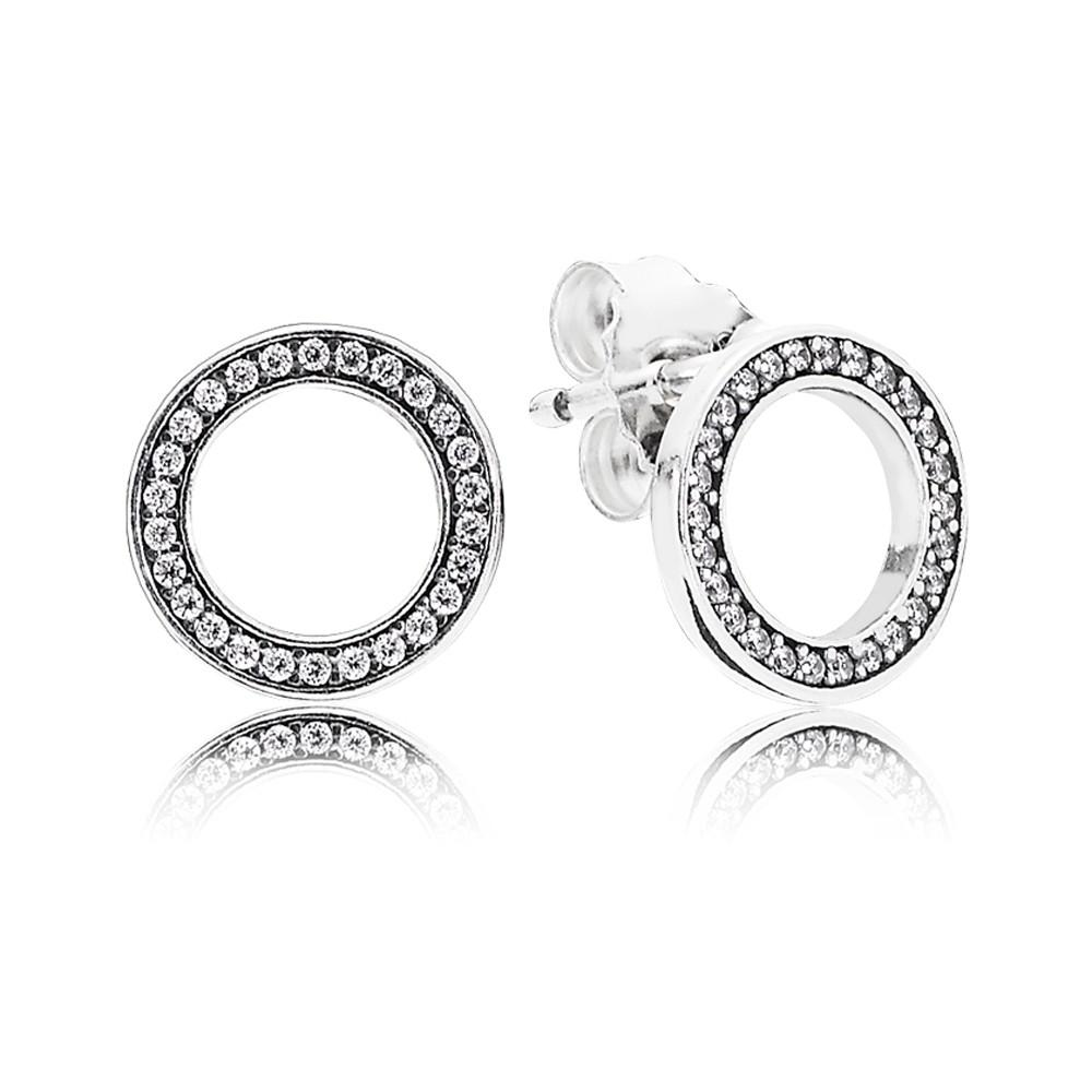 2d2d33b16 097f4 c9951 good authentic pandora earrings forever pandora stud earrings  with cubic zirconia 92.5 sterling silver womens earrings where can i buy ...