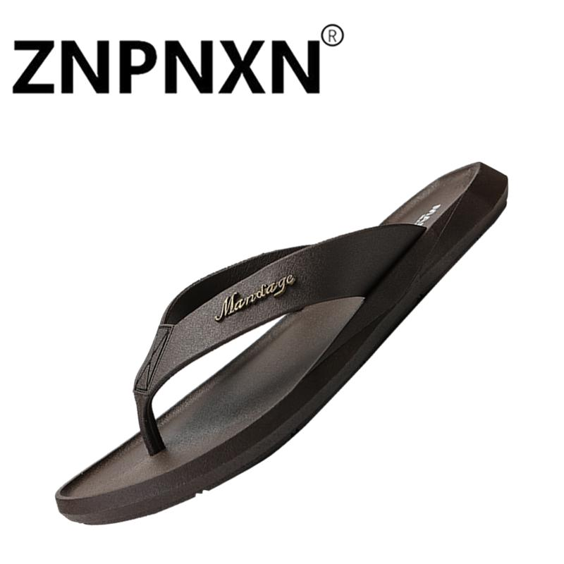 696f04b6803707 ZNPNXN Shoes Hot Summer Fashion Simple And Comfortable Flip Flops Non-Slip  Wear-Resistance
