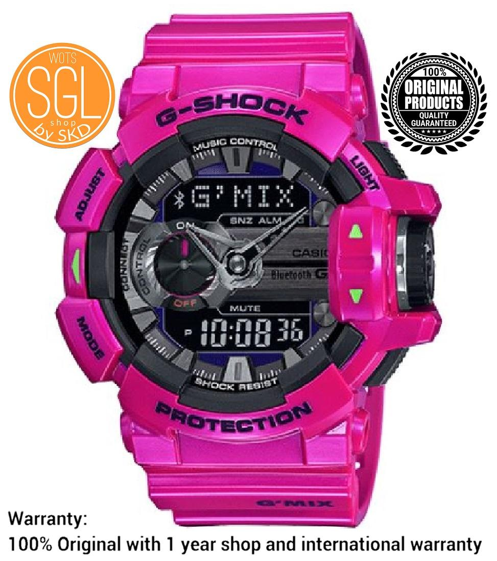 Casio G Shock Philippines Mens Watches For Sale Prices Reviews Mtg S1000d 1a4 Sapphire Crystal Pink Gmix Bluetooth Watch Gba400 4c Sgl Wots Shop