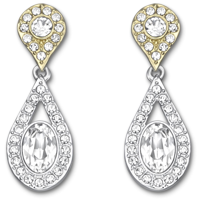 Swarovski Crystal Plated Swinging Earrings 5072131