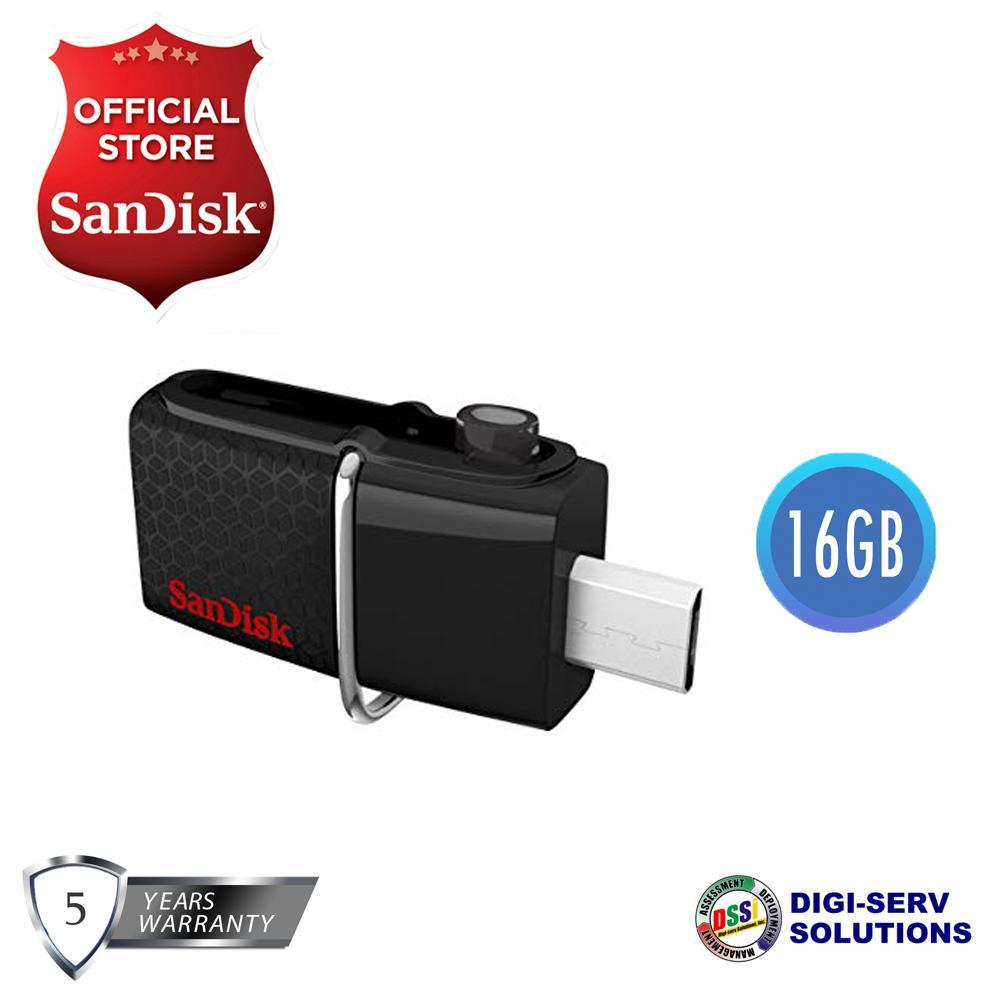 Buy Sell Cheapest Sandisk Sddd2 Ultra Best Quality Product Deals Original Dual Usb Drive 30 32gb 16gb Otg Black