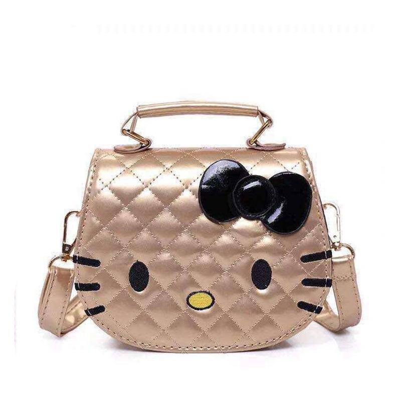 Ella #120 Shiny Leather Kitty Shoulder Bag Sling Bag Fashion Bag #SkyWay