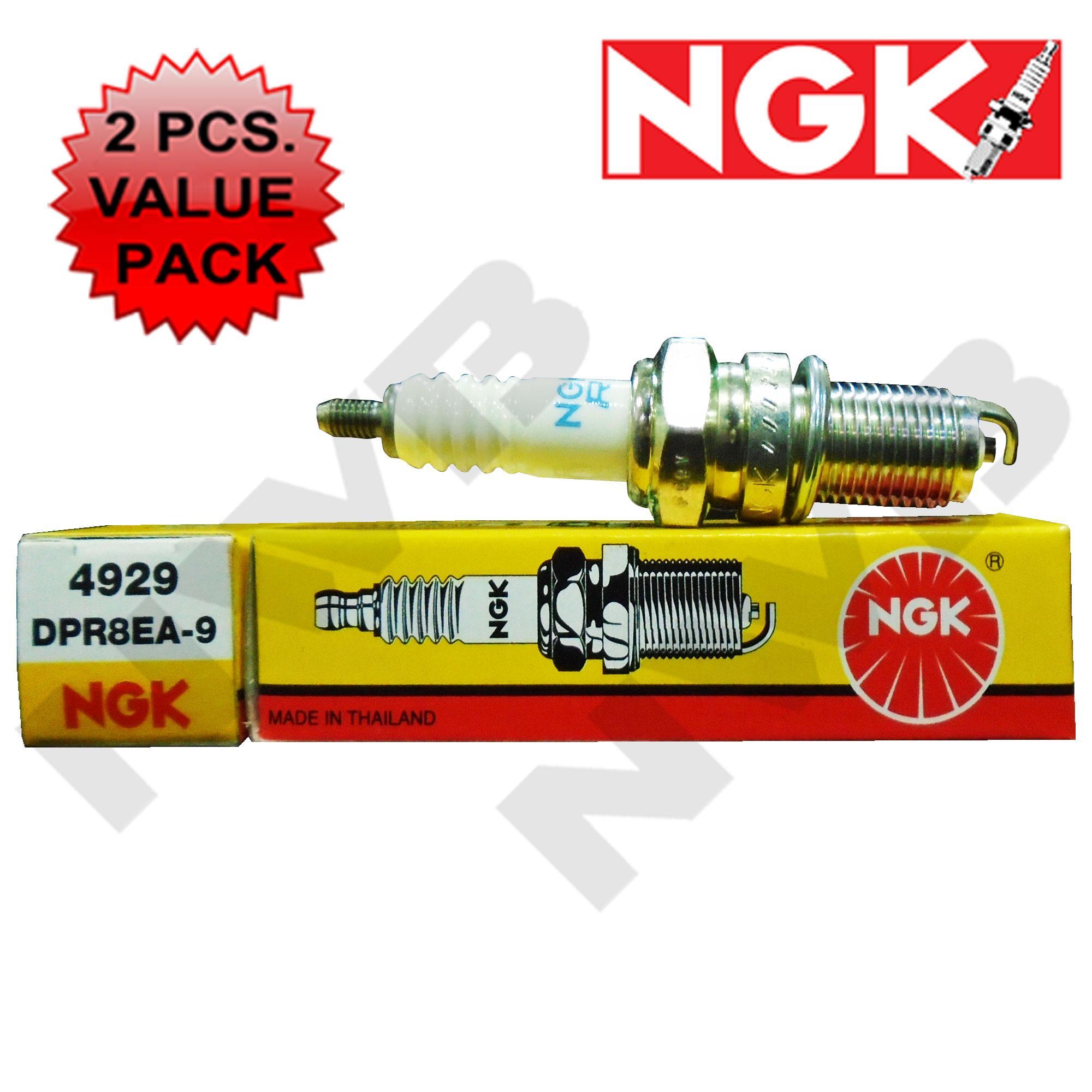 Ngk Dpr8ea-9 Spark Plug 2pcs. Value Pack By Nwb Wiper Blade.
