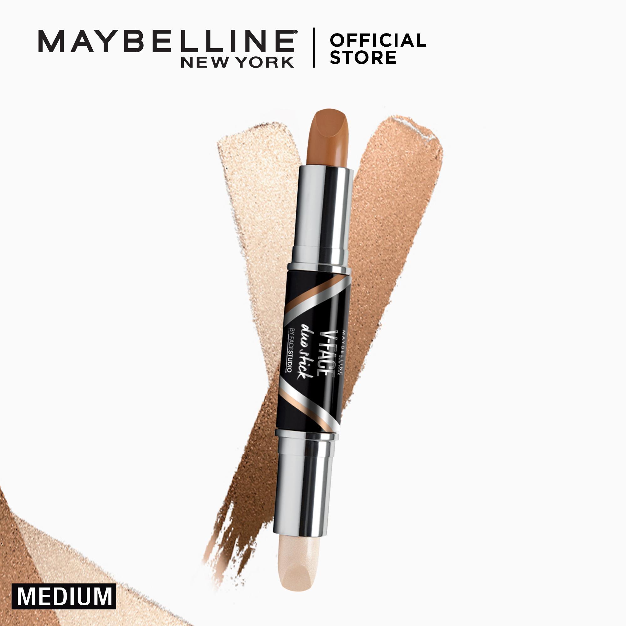 Shimmer Highlights Brands High Lighter Makeup On Sale Prices Set Maybelline V Face Duo Powder Contouring Stick Medium