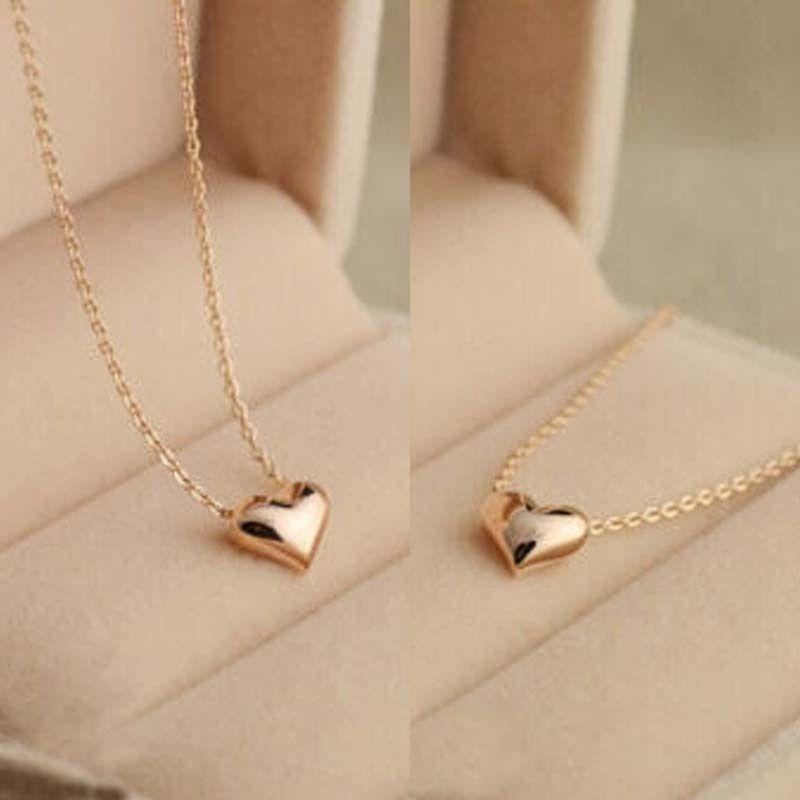 Philippines Syrel Kursten 14k Gold Plated Puffed Heart Pendant Necklace