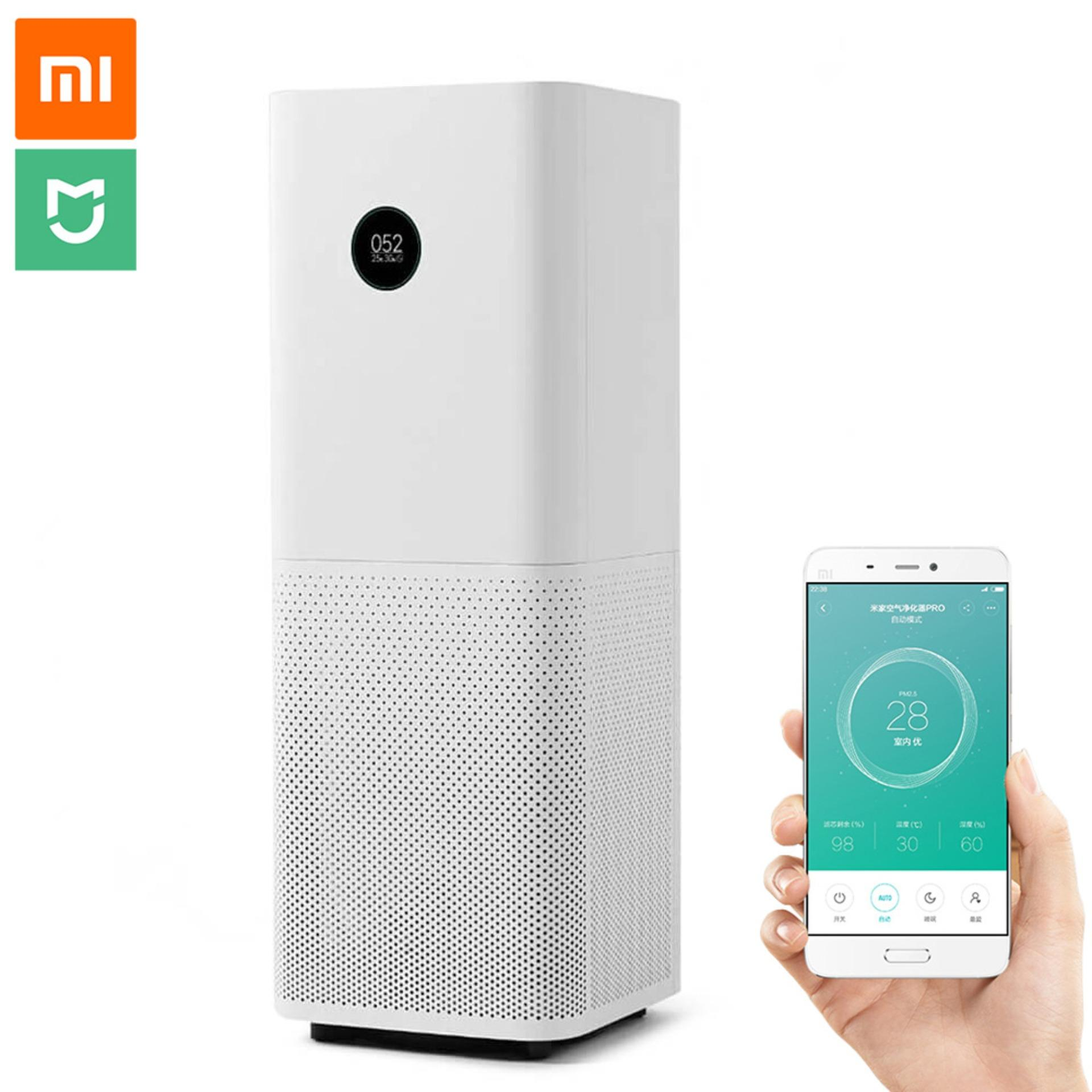 Xiaomi Mi Air Purifier Pro OLED Display, Smart Mi Home App Control, New Aerodynamic