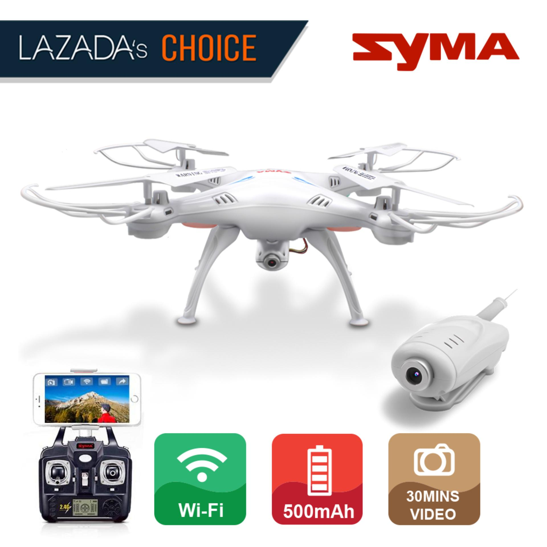 Syma Philippines Price List Rc Quadcopter For Sale Lazada Foldable Frame Kit With Parallel Circuit Board Pcb Mini 280 X5sw Wifi Fpv Real Time 24ghz Drone Uav Rtf Ufo