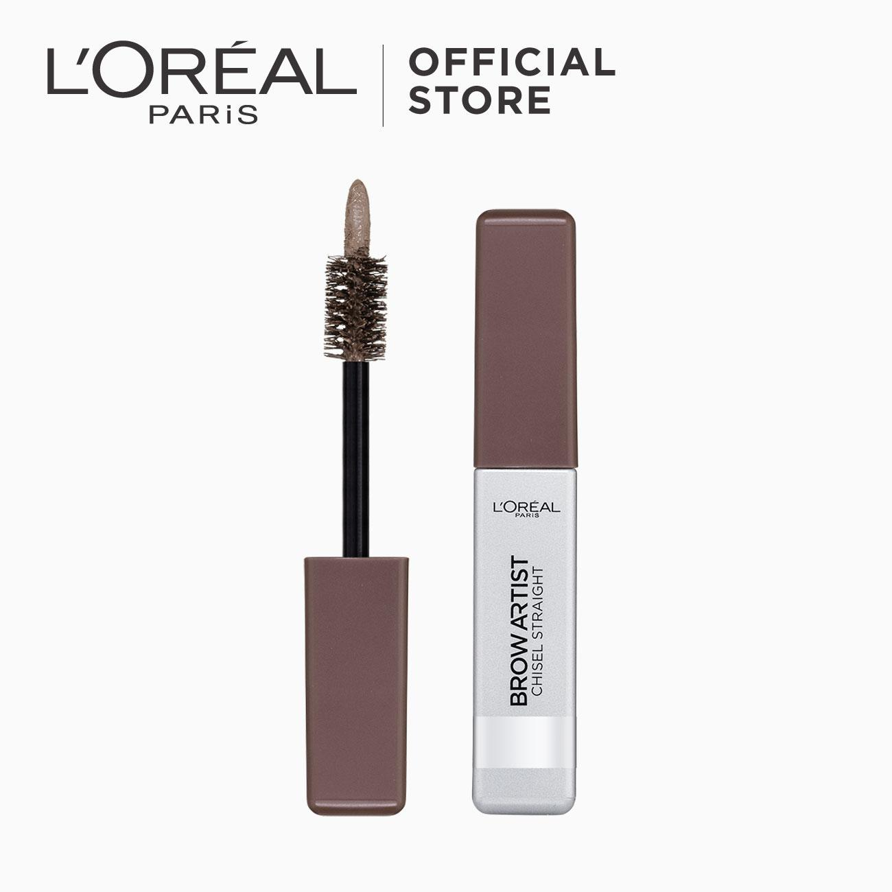 Chisel Mascara Straight Eyebrow Mascara - Light Brown by LOréal Paris Brow Artist Philippines