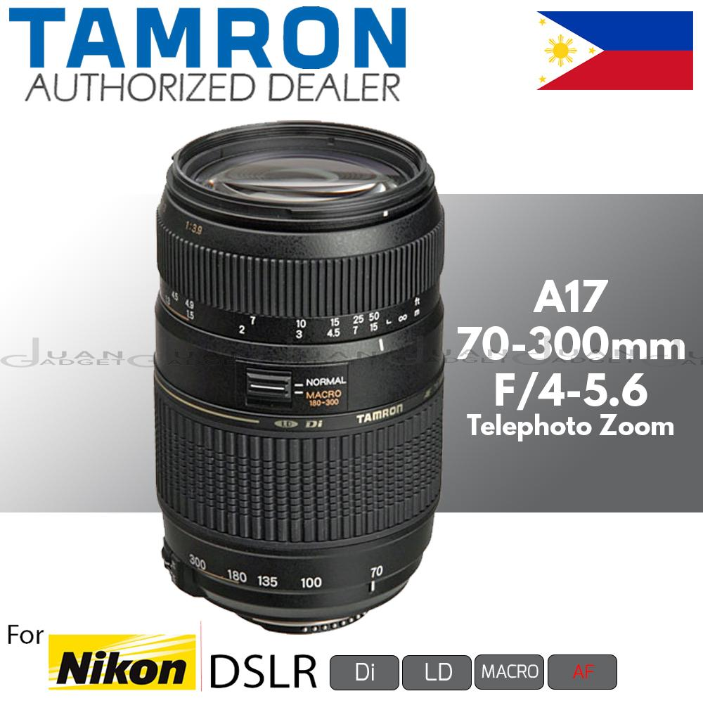 Tamron Philippines Camera Lens For Sale Prices Reviews Nikon Sp 70 300mm F4 56 Di Vc Usd A17 Zoom Telephoto Af F 4 Ld Macro