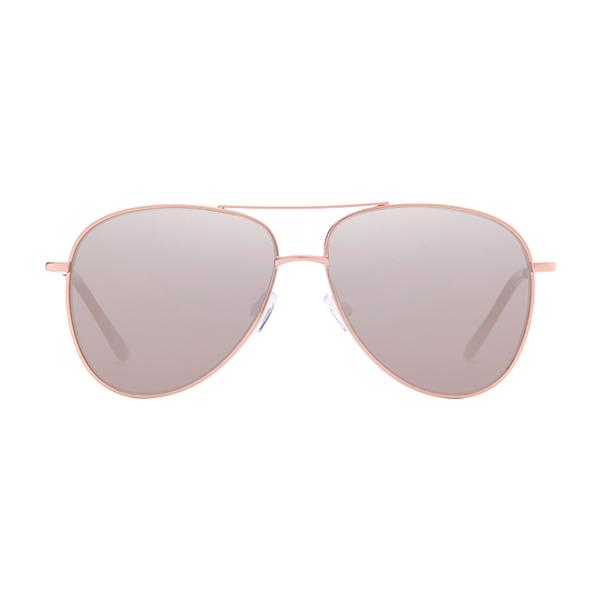 9b108653077 Sunnies Studios Serge Pilot Sunglasses for Men and Women (Gold Mirror)