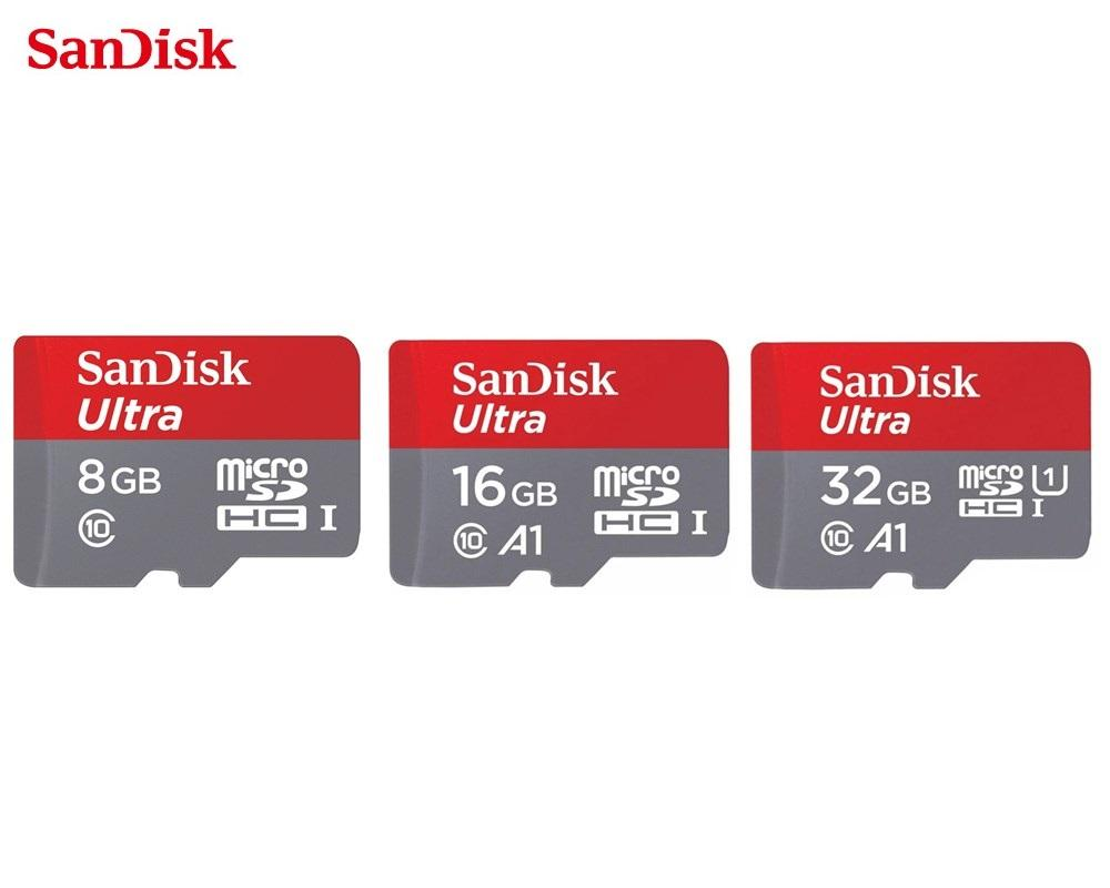 Buy Sell Cheapest Sandisk Ultra 16gb Best Quality Product Deals Microsd Sdhc 32gb Speed 80mbps Class 10 With Adapter Micro A1 Series Uhs I Up To 98mb S
