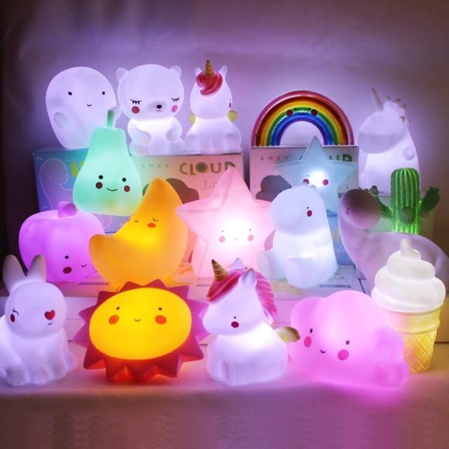 CiCi Baby Cute Mini Cartoon Night Light Led Night Lamp Kid Room Table Night  Lights 5720d6ad8