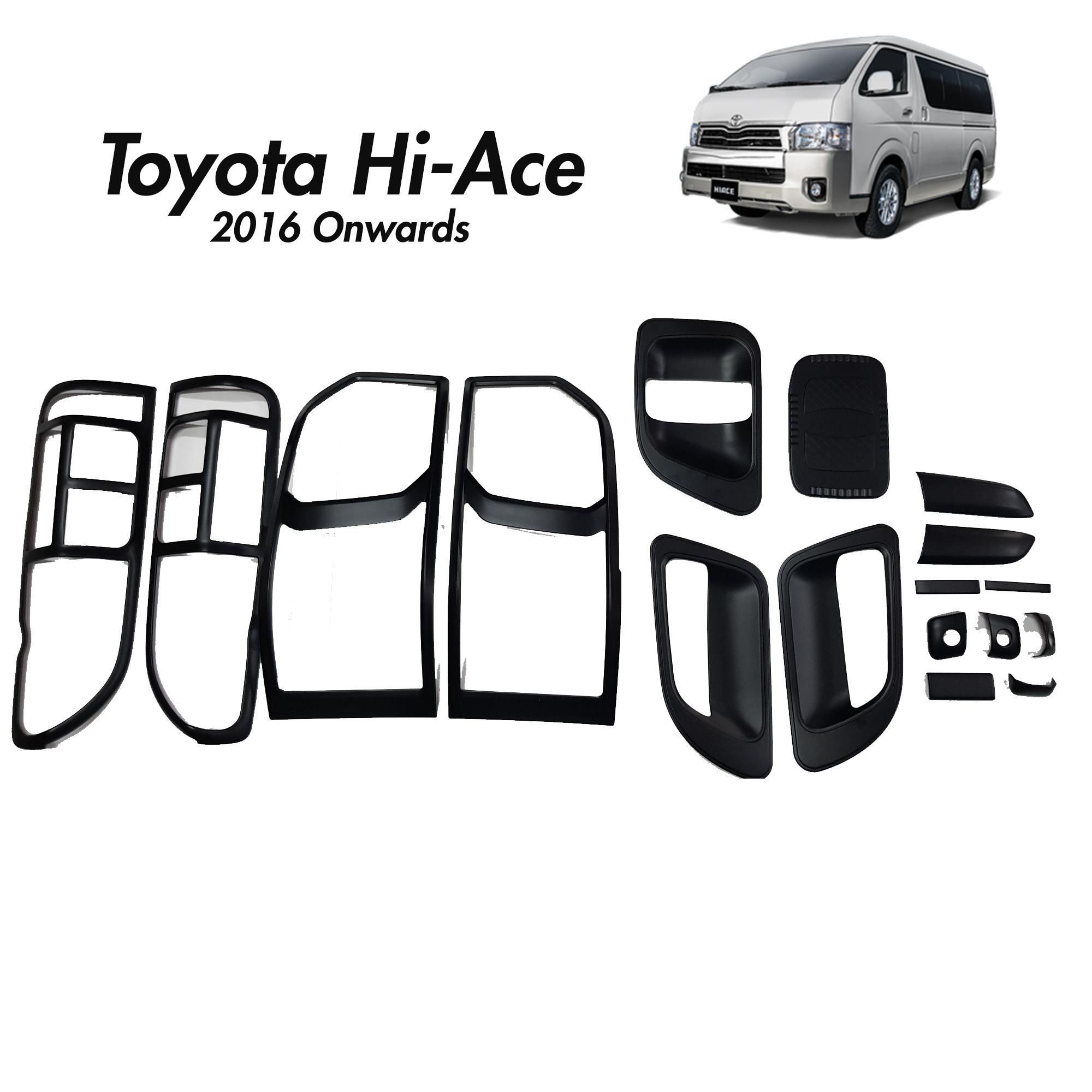 Toyota Philippines Price List Car Parts Accessories For Wiring Diagram Rush Hi Ace 2016 2019 Cover Set Matte Black