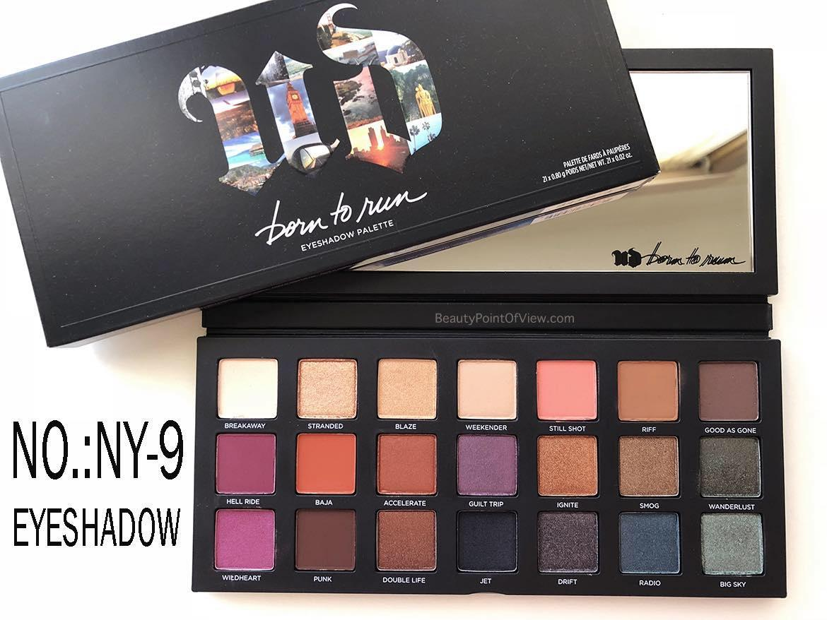 UB BORN TO RUN EYESHADOW PALETTE Philippines