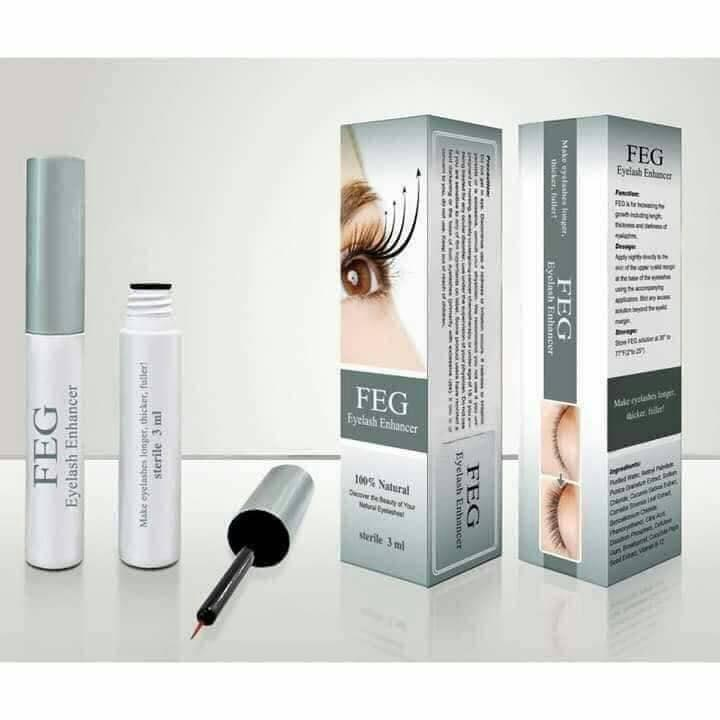 BUY 1 TAKE 1 FEG Eyelash Enhancer Eye Lash Rapid Growth Serum Liquid 100% Natural 3ml US - intl Philippines