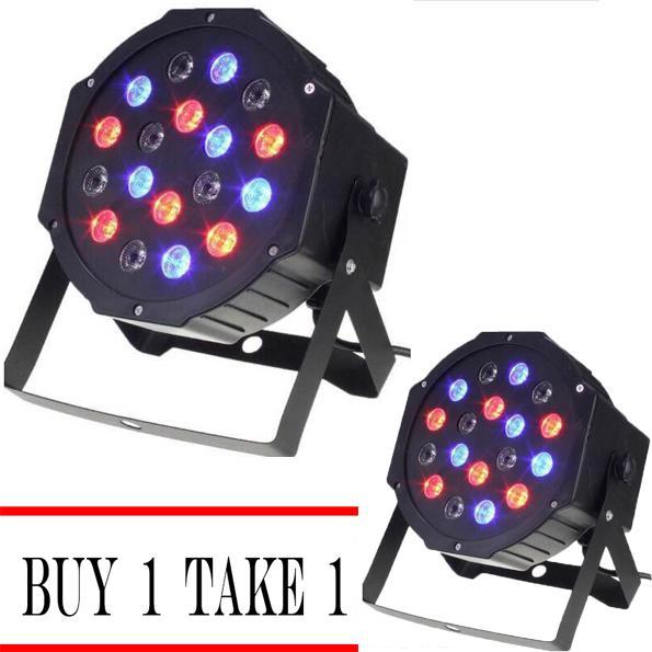 Buy 1 Take 1 18 Led Mini Aluminum Led Flat Par Light Christmas Stage Lights By Lst Dry Goods.