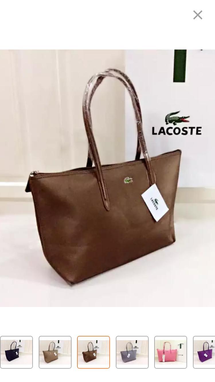0e1238ab1397 (Free Shipping)Lacoste Women Cross Body   Shoulder Bags