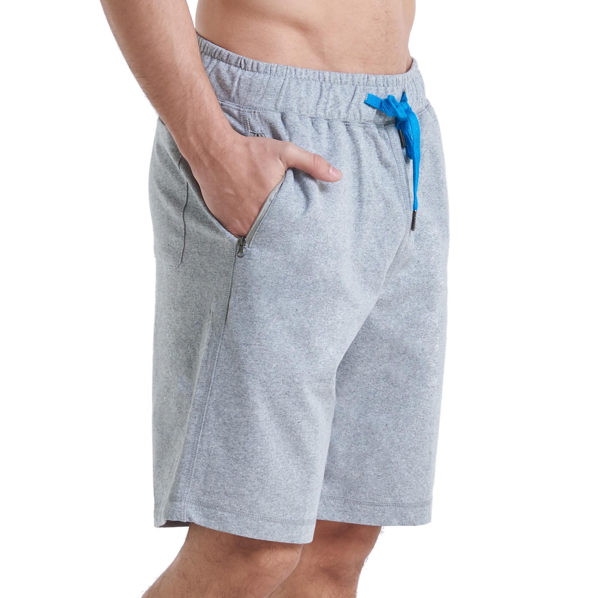 Huga Activewear Ultra Soft Travel Jogger Summer Shorts For Men With Zipper Lined Pockets By Huga.