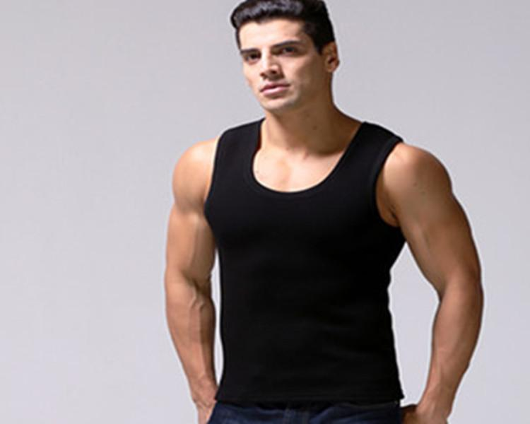 Men Winter Thermal Thickness Warm Underwear Vest Tank Tops By Taobao Collection.
