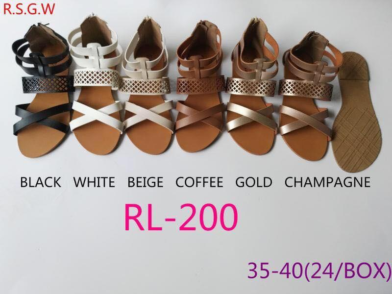Sia- Flat Sandals For Women Rl-200 By Sophia Fashion.