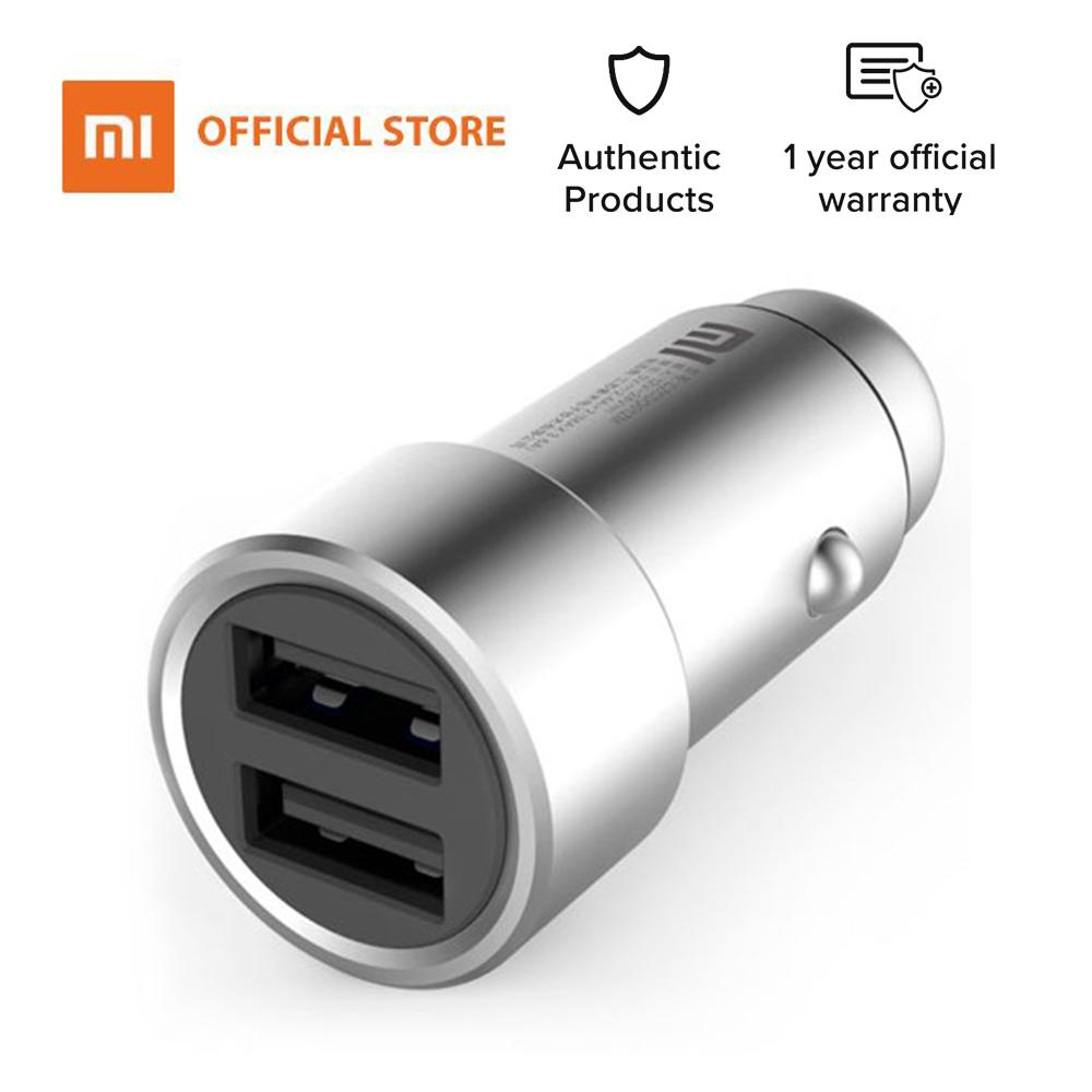 Mi Philippines Price List Smartphone Powerbank Case For Charger Xiaomi Redmi 3 4 4i Fast Charging Original 100 Car Usb Dual Output Intelligent Identification 5s