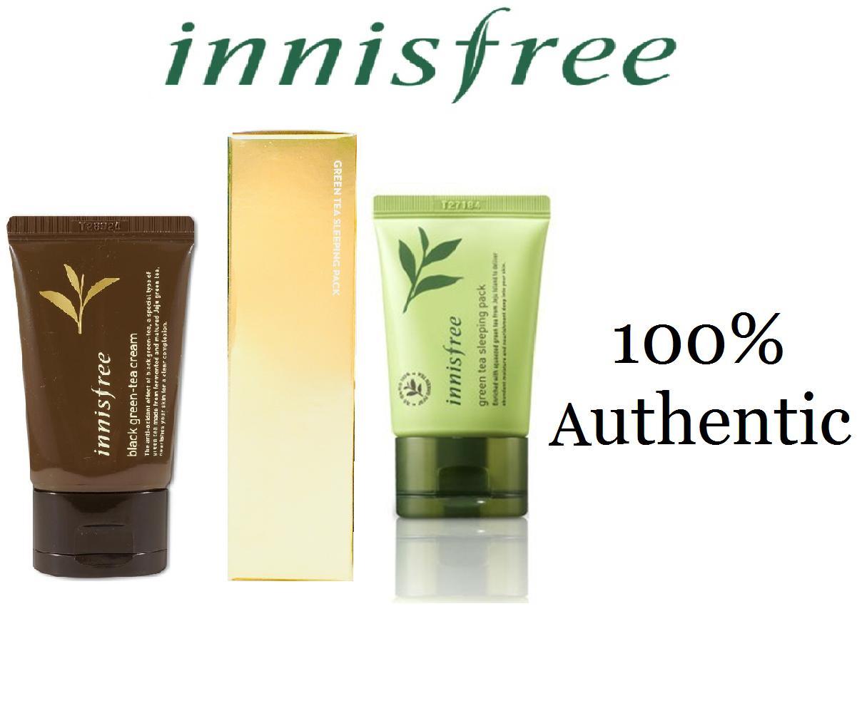 Skincare Sets Brands Gift On Sale Prices Set Innisfree Green Tea Sleeping Pack Black Cream 30ml