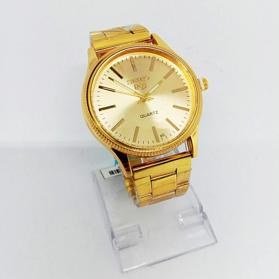 Seiko Philippines Watches For Men Sale Prices Skx007k2 Automatic Divers 200m Black Dial Watch Gold Stainless Steel Mens