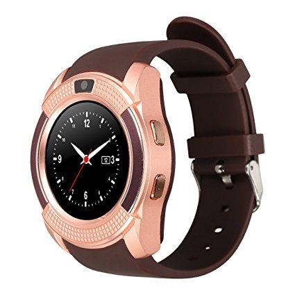 V8 Smart Watch Phone 0 3M Camera Bluetooth Music Player And SIM