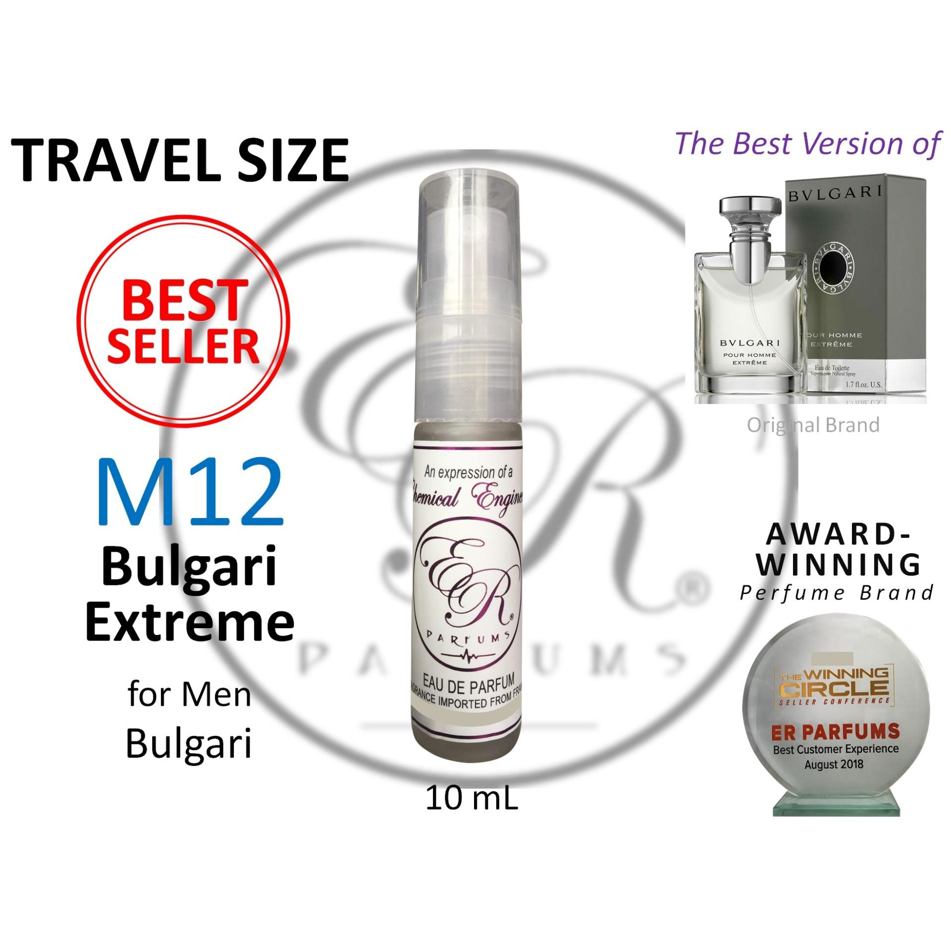7ca598728cebd ER PARFUMS M12 Bulgari Extreme for Men by Bulgari 1 piece 10 ml TRAVEL SIZE  -
