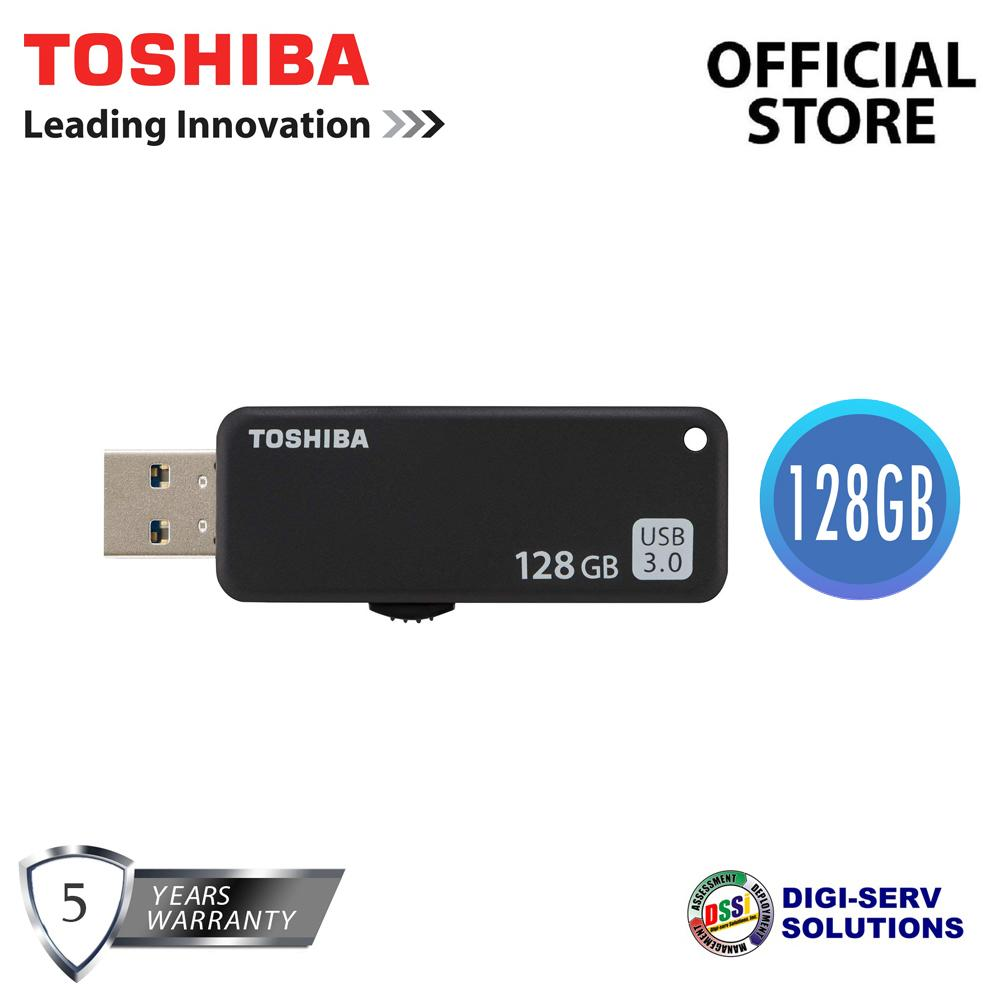Toshiba Usb Flash Drives Philippines For Sale Yamabiko U365 128gb Transmemory 30 Drive With Fast Read And A Simple Sliding