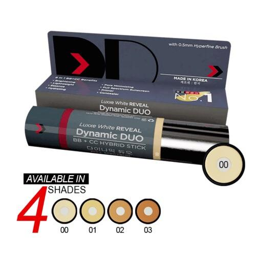 Luxxe White REVEAL DD STICK  다이나믹 듀오  DDs Got You Covered Philippines