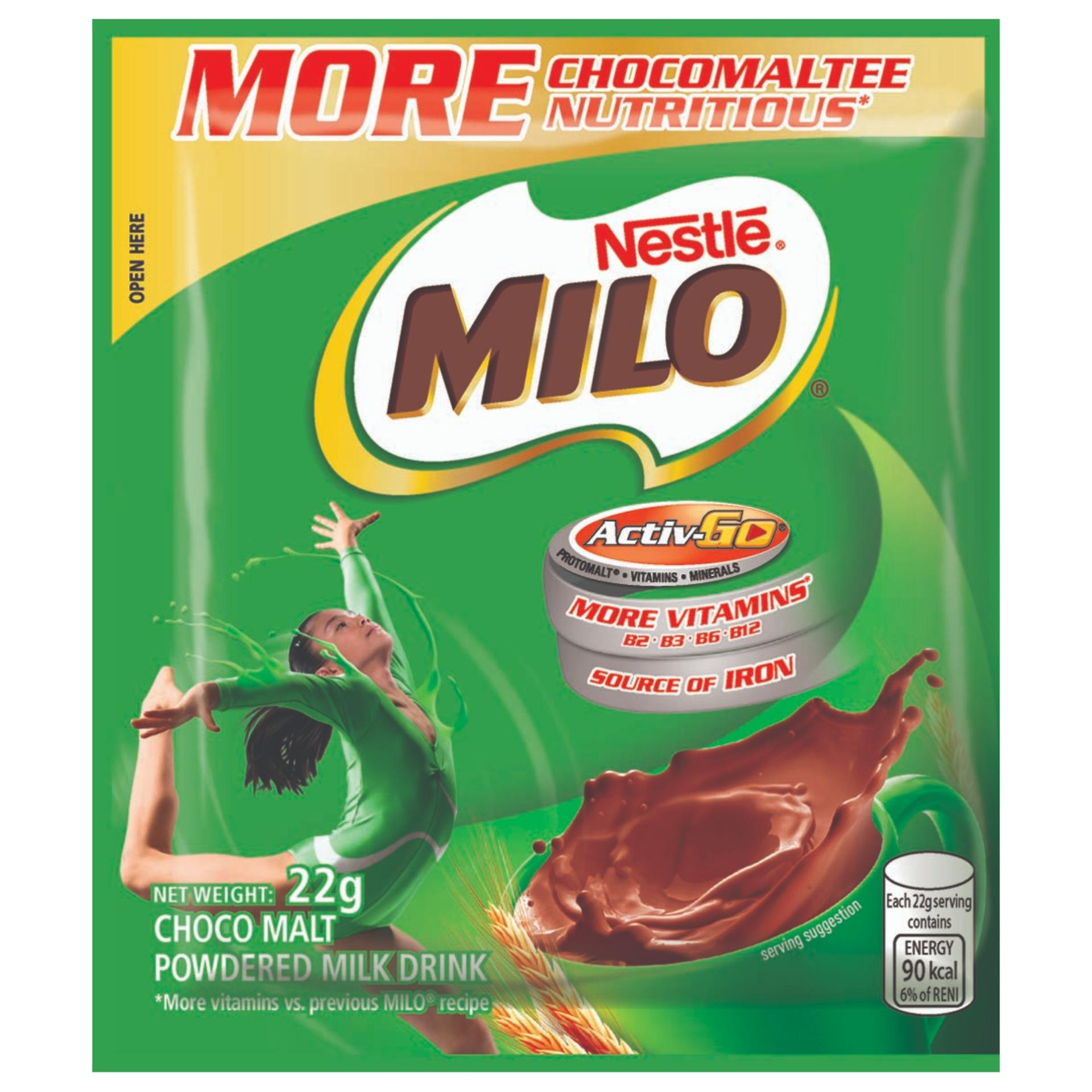 Buy Sell Cheapest Nestl Milo Activ Best Quality Product Deals Energy Cube 2 Pack Go Champion 22g Of 12