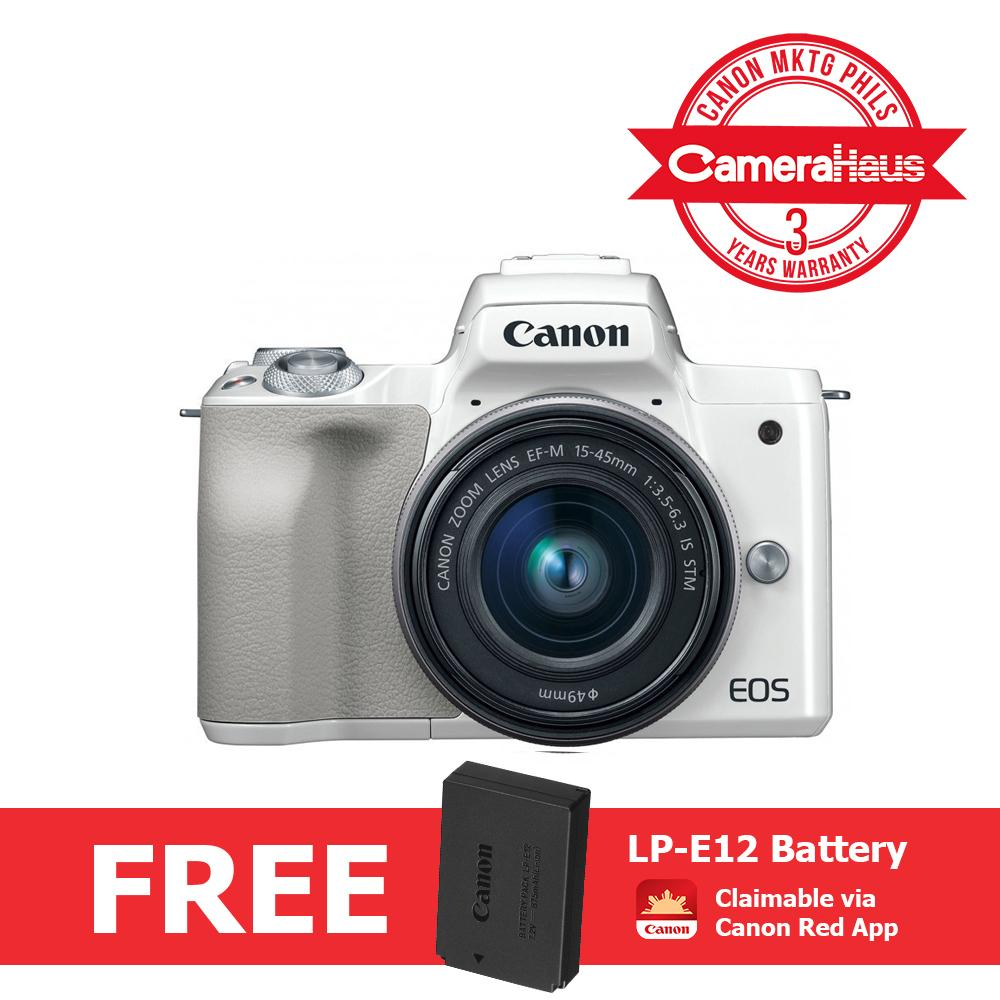 Canon Mirrorless Camera Philippines Dslr For Sale Eos M100 Kit 15 45mm 22mm Kamera White M50 Digital With