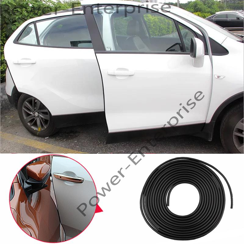 Car Door Edge Trim Rubber Seal Protector Guard Strip Moulding Rubber Scratch Protector Strip for Cars