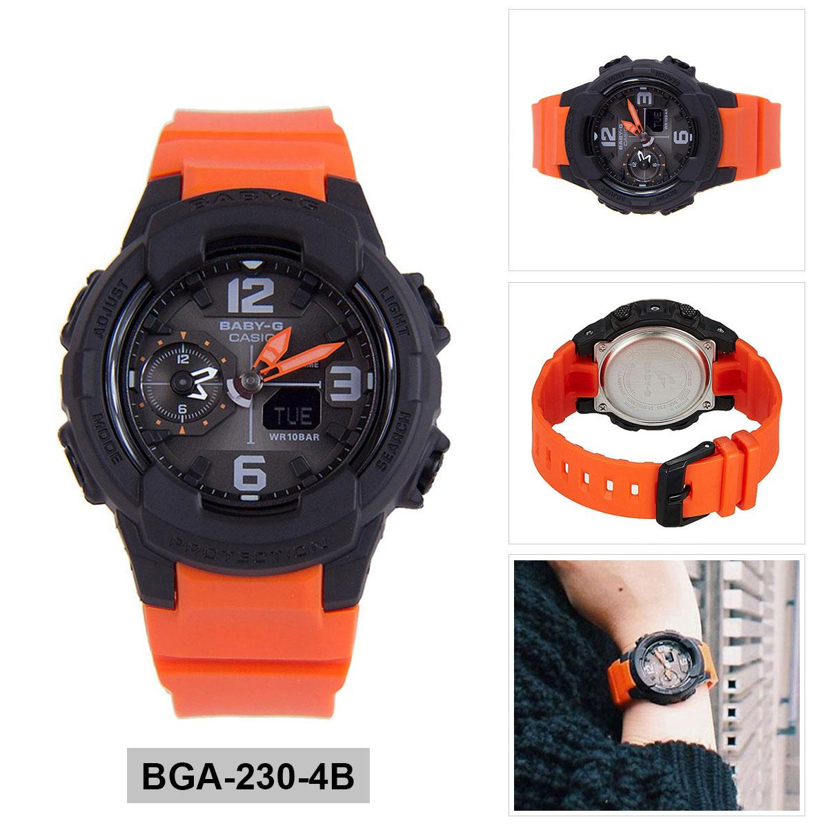 Buy Sell Cheapest Casio Orange Resin Best Quality Product Deals Baby G Bga 230 7b Original Case Strap Ladies 4b