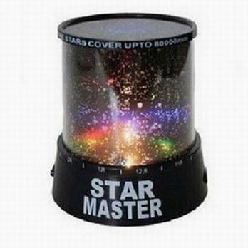 Star Master LED Starry Sky Projector Lamp Night Light for Children & Decoration ( Moon )