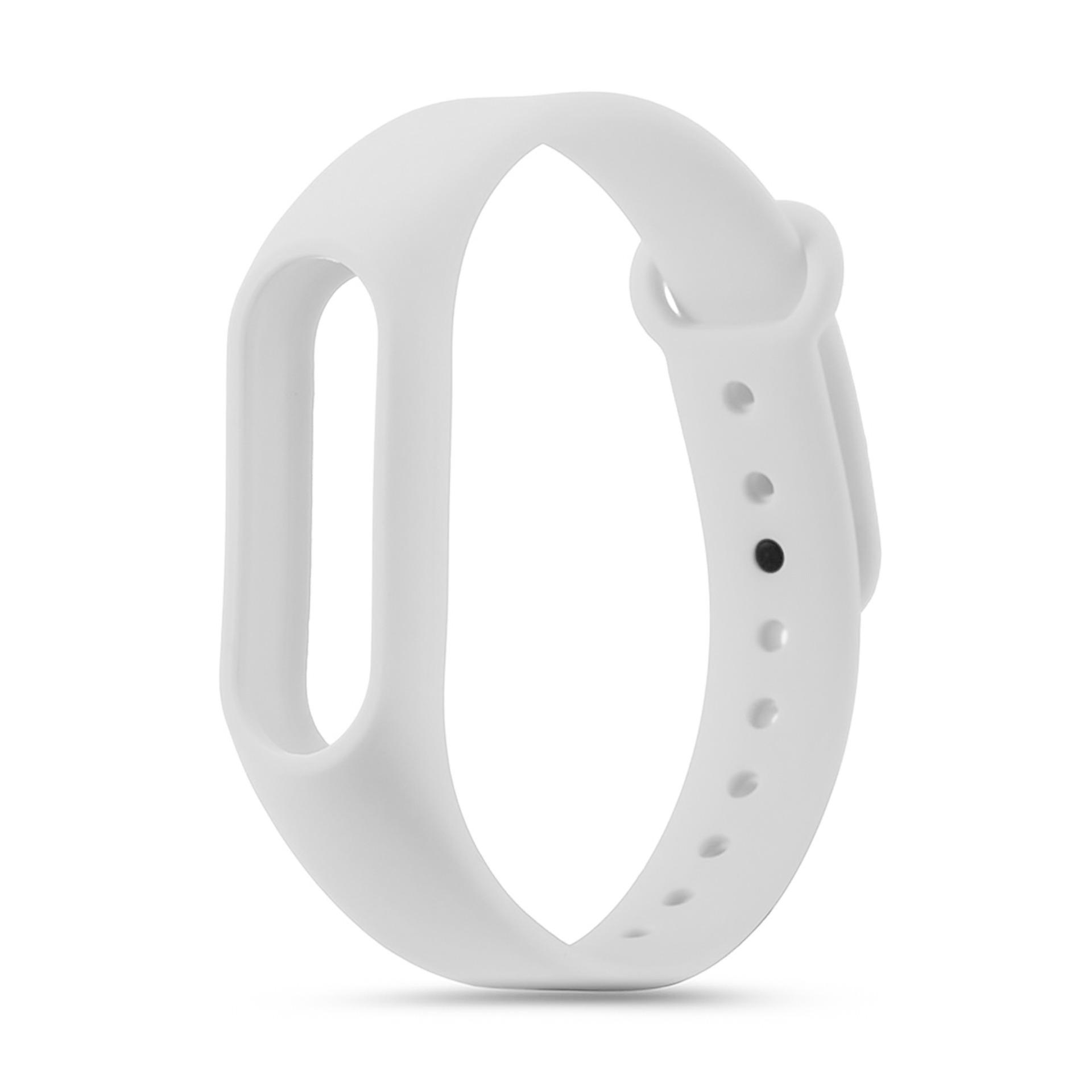 Xiaomi Mi Band 2 Replacement Jelly Watch Band Wrist Strap (white) By Hellotronics.