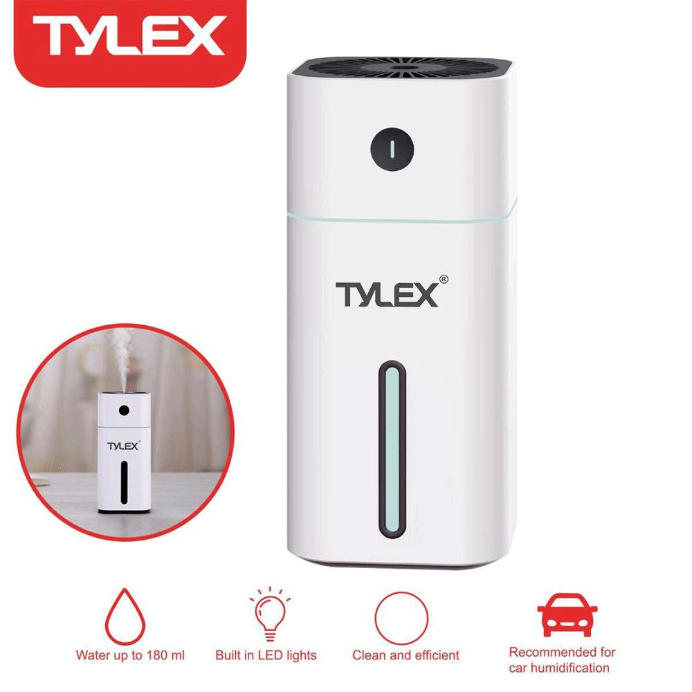 Tylex X-H33 Portable Mini Usb Air Car 180ml W/ Led Light Humidifier By Lucky Hr.