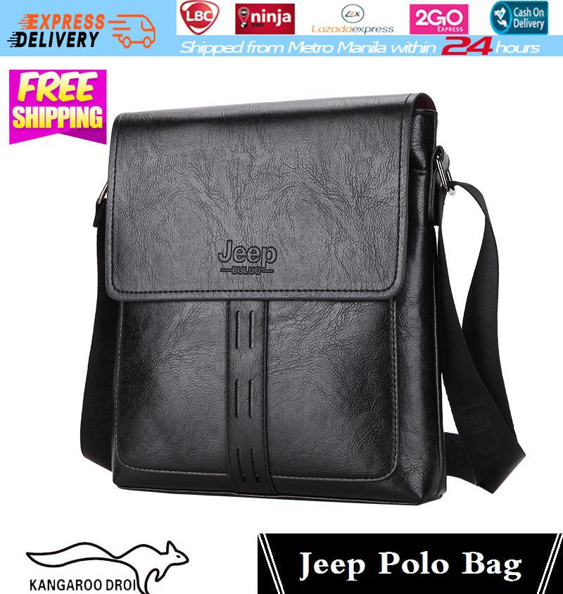 Jeep Bag Jeep Buluo Messenger Bag Jeep Leather Briefcase Shoulder Bag  Unisex Working Briefcase Leather Sling c1f102b95b