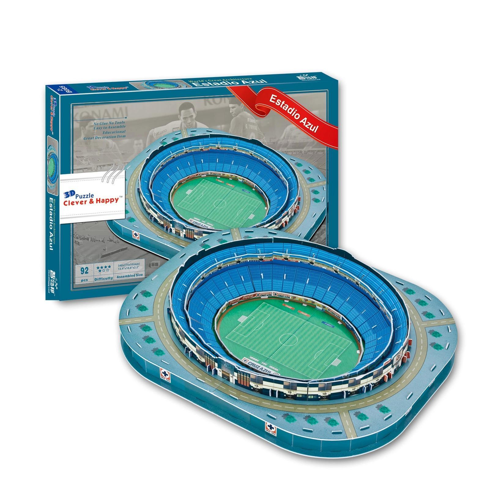 3D Puzzle Mexico Estadio Azul Stadium Model For Kids EducationalToy