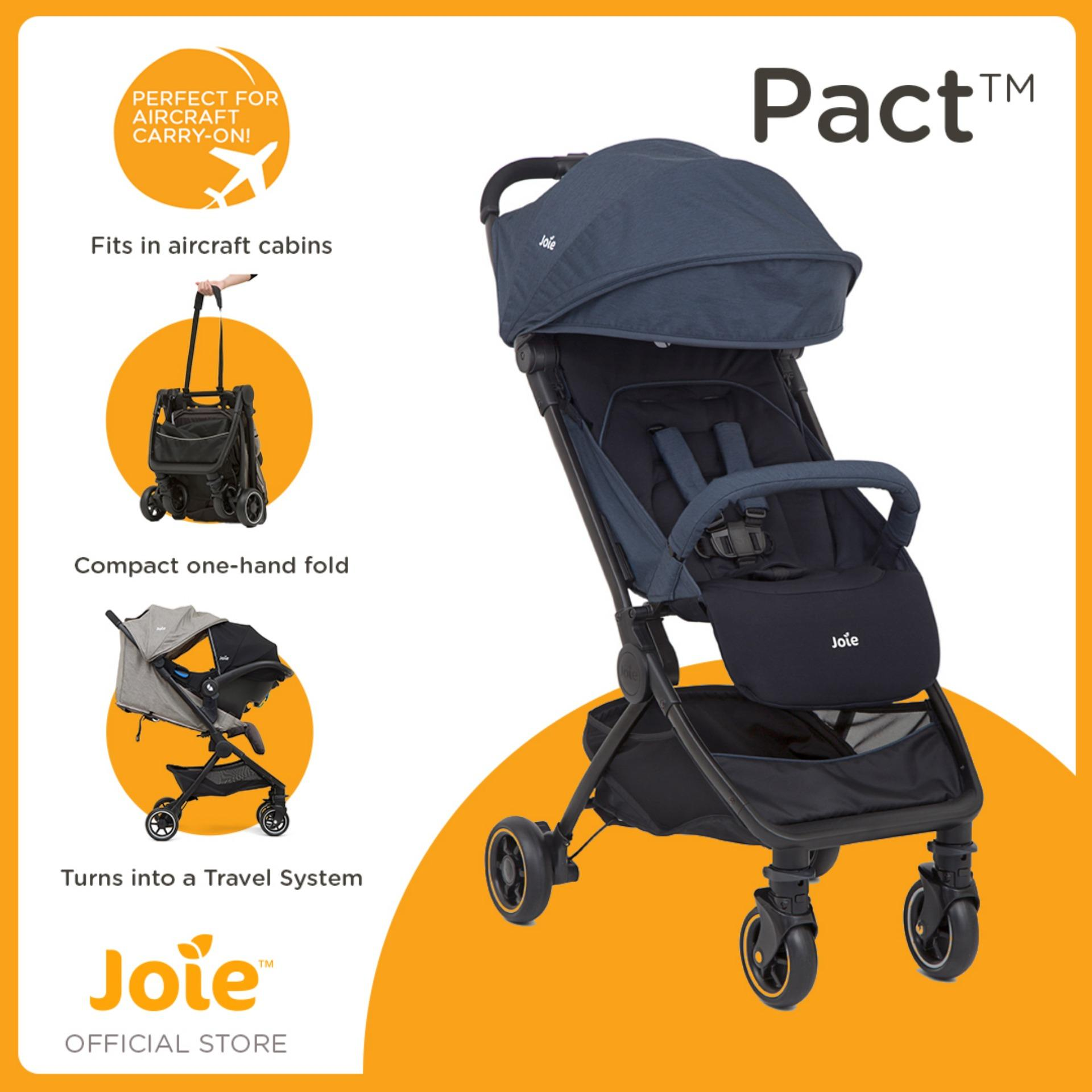 Joie Pact Stroller Compact And Lightweight Navy Blazer By Joie Baby Official Store.