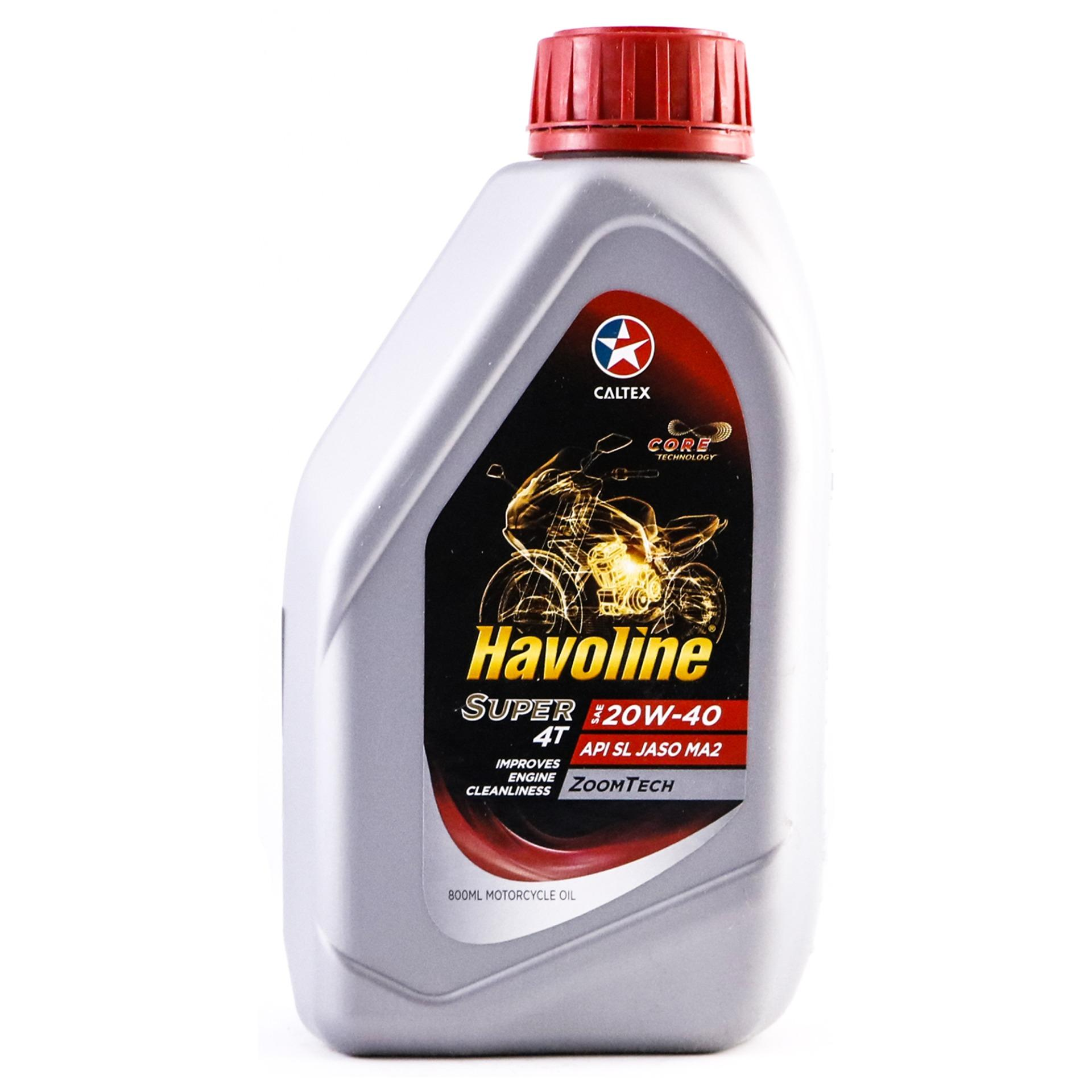 HAVOLINE SUPER 4T 20W40 800ML (9402-011)