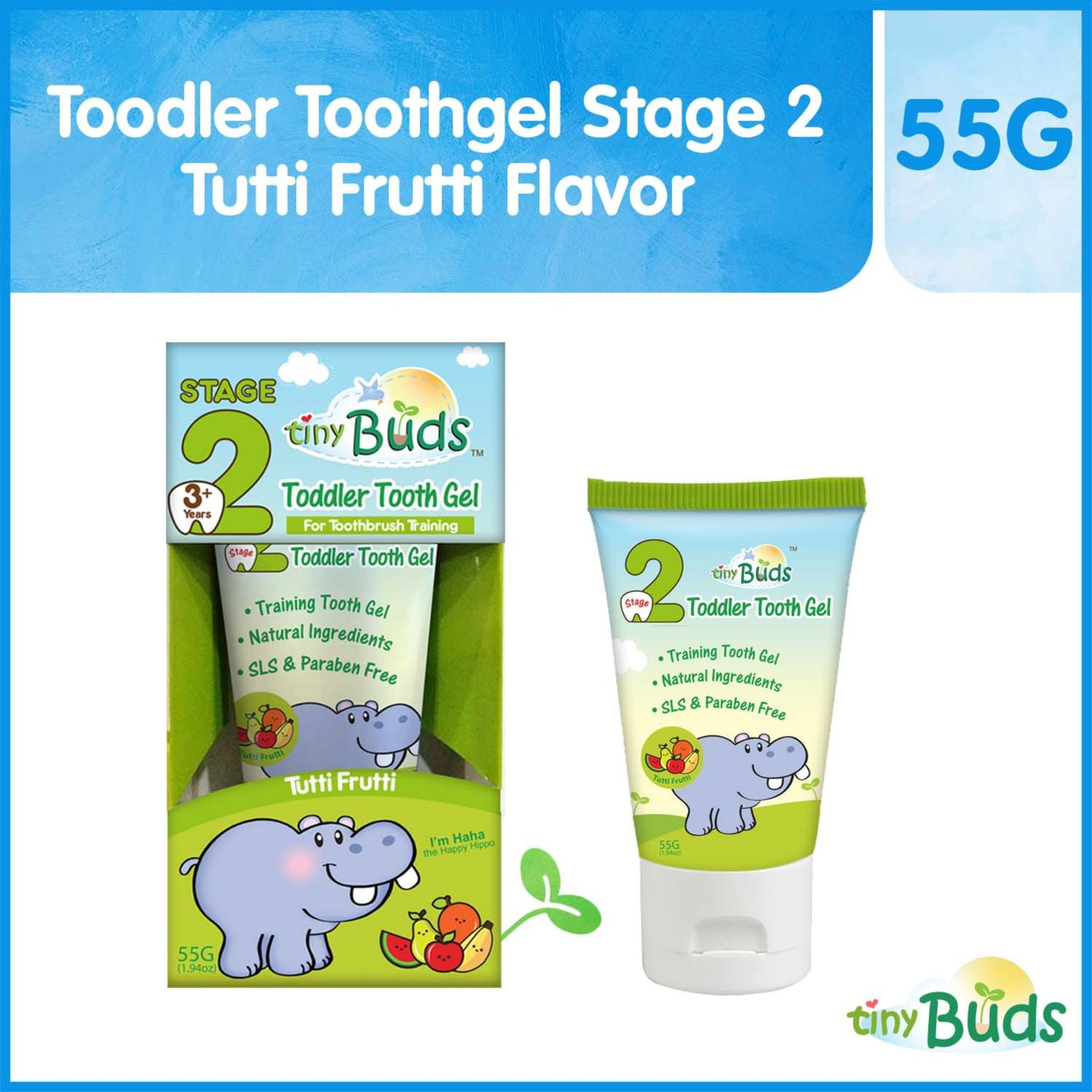 Buy Sell Cheapest Chicco Baby Toothpaste Best Quality Product Buds Childrens 50ml 3 12 Year Green Apple Tiny Toddler Toothgel Stage 2