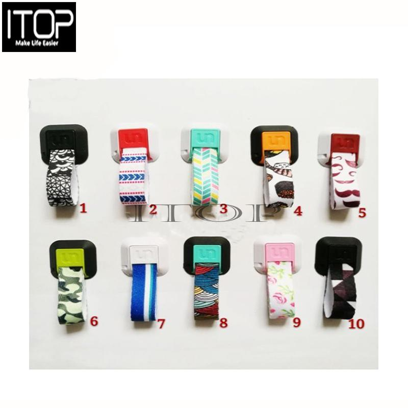 ITOP UNGRIP colored drawing phone holder Finger ring cellphone pop socket