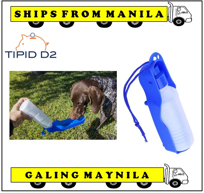 Ultralite Pet Portable Feeding Water Dispenser 500 Ml Bottle (royal Blue) By Tipid D2.