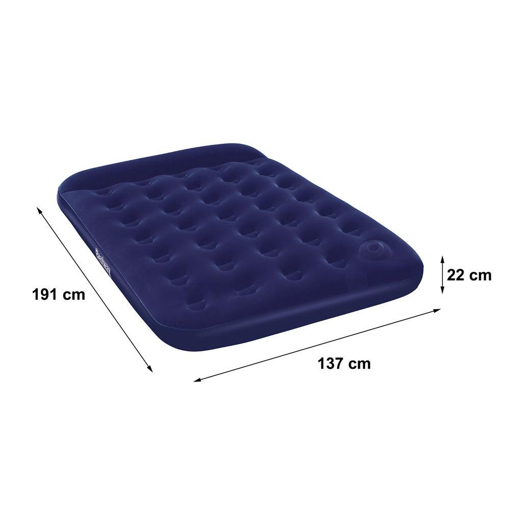 Bestway Inflatable Double Person Air Bed (blue) By Usje Trading.