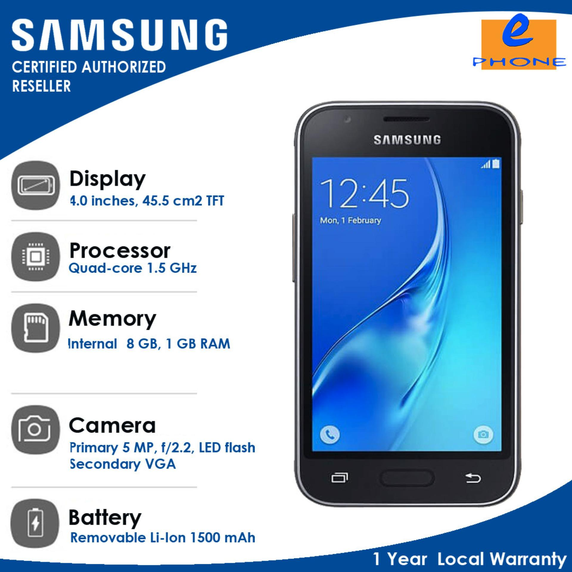 "Samsung Galaxy J1 Mini Prime 4 0"" 8GB 1GBRAM 5MPBack VGAFront Quad core"