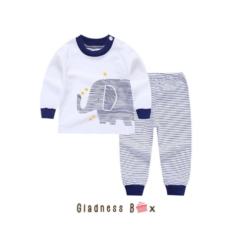 Gladness Box Baby Toddler Kid Cute Sleepwear Pajama Set By Gladness Box.